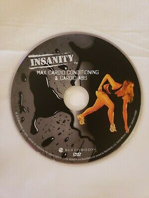 Insanity Workout: MAX CARDIO CONDITIONING & CARDIO ABS Replacement DVD