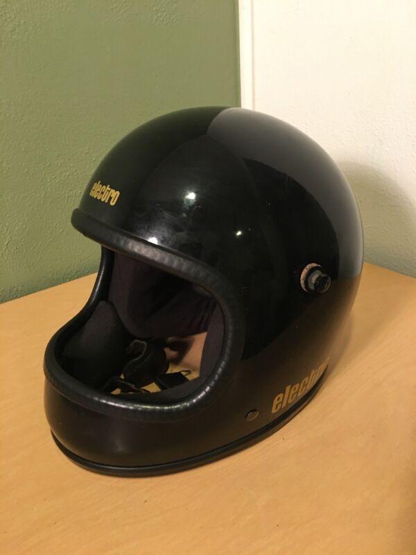 Vintage ELECTRO 50 Full Face Motorcycle Helmet