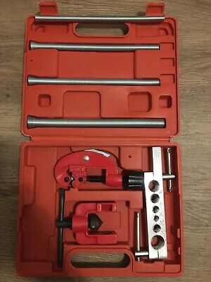 7 Pc Flaring Tool Kit Set Flare Cutter Pipe Bending Bender Hvac. Ship From Usa.