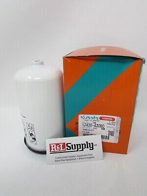 New Genuine Kubota Fuel Filter W Separator Part 1j430-43060