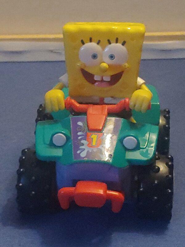 Spongebob Squarepants 4 Wheeler Mattel Toy (2007)