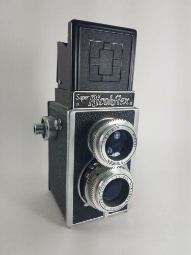Super Ricohflex TLR twin lens reflex camera vtg display parts or Repair
