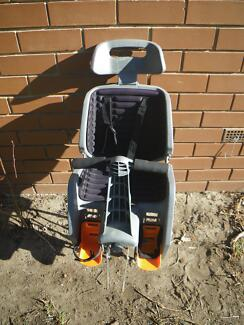 BETO DELUXE BIKE BABY SEAT WITH ALLOY PANIER RACK FOR ALL BICYCLE Maribyrnong Maribyrnong Area Preview