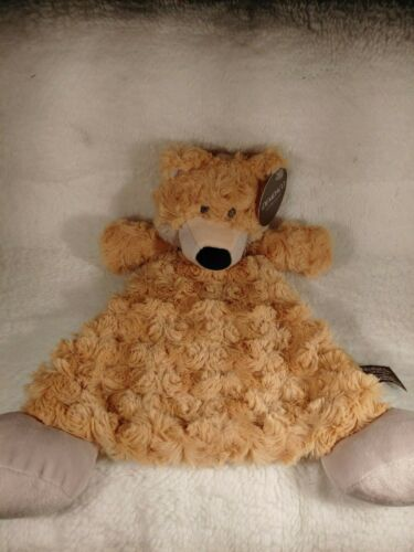 DEMDACO Fitzgerald Fox Blankie/Rattle Baby Shower Christmas Gift