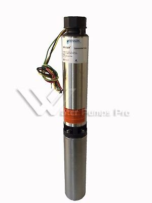 10sb05412cl Goulds 10gpm 12hp Submersible Water Well Pump Motor 3 Wire 230v