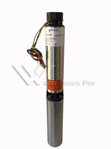 10SB05412CL Goulds 10GPM 1/2HP Submersible Water Well Pump & Motor 3 Wire 230V