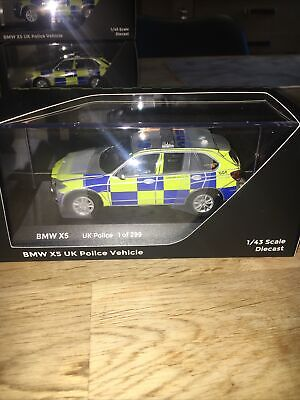 1.43 PARAGON MODELS BMW X5 LONDON METROPOLITAN TRAFFIC POLICE PA-91202 NEW
