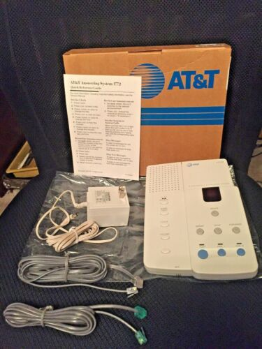 Genuine AT&T (1772) 2-Line Digital Answering System w/ Power Supply -Lucent Tech