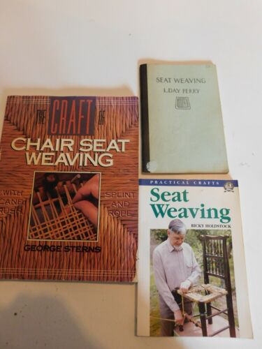 Seat Weaving by L. Day Perry, 1940 Third Edition Chair Caning