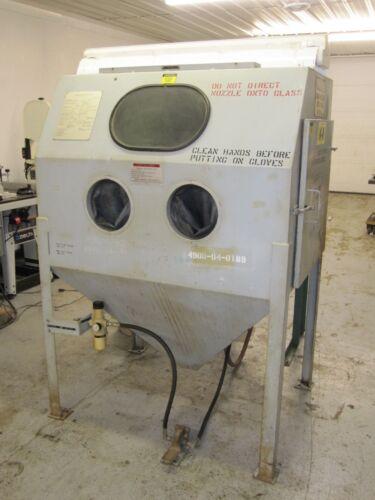 "48"" x 36"" Vacu-Blast Sand Blasting Cabinet"