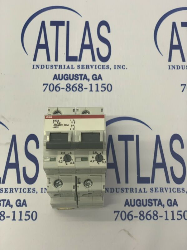 ABB Miniature Circuit Breakers P/N# S502-K4.2