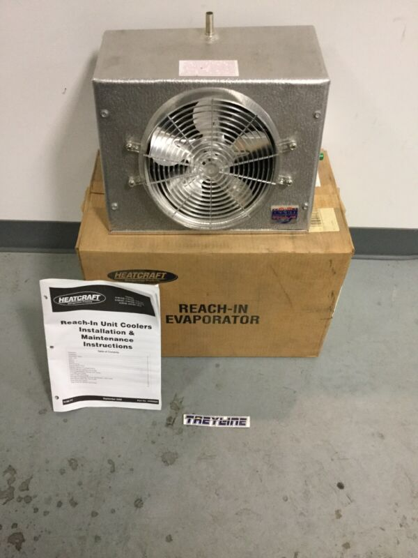 NEW, HEATCRAFT, VA17A, REACH-IN EVAPORATOR, (18M-3)