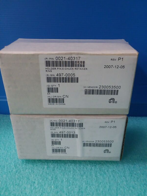 Amat 0021-40317 Holder Pin E-chuck Retainer