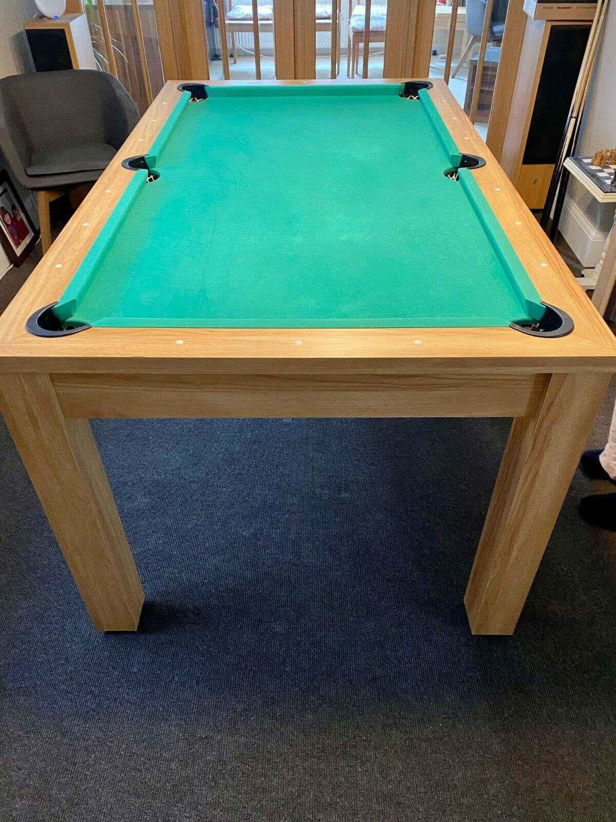6ft Pool Table Tennis Table
