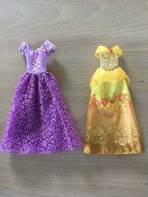 Girls Doll Clothes Disney Tangled and Beauty & The Beast Dress