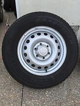 Toyota Hilux Dunlop tyres and rims x 5  225/70R17 AT20 Grandtrek Keilor East Moonee Valley Preview