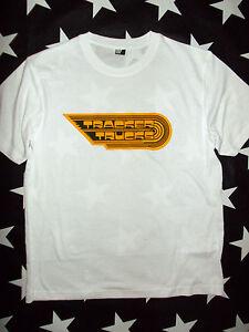 Tracker Trucks 70s Skateboard logo t-shirt size S - XL+ ...