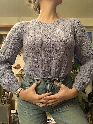 Lilac Vintage Jumper Size 8