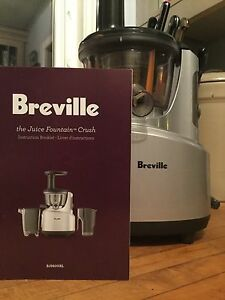 Breville Masticating Juicer Vs Omega : Buy or Sell Processors, Blenders & Juicers in Halifax Home Appliances Kijiji Classifieds ...