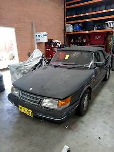 1990 Saab 900 Convertible Good for Parts Burswood Victoria Park Area Preview