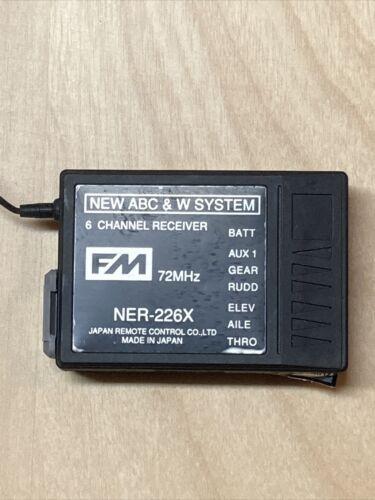 New Abc W System NER-226X 6 Ch Receiver FM 72 MHz 72.890 Channel 55 - $19.00