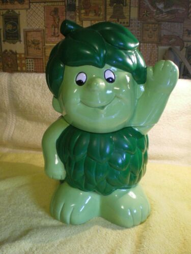 Vintage Benjamin & Medwin LITTLE SPROUT Ceramic Cookie Jar 1988 Pillsbury FR/SHP