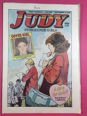 JUDY - Stories For Girls - No.1549 - September 16, 1989 - Comic Style Magazine