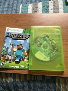 Xbox 360 Minecraft for sale!!