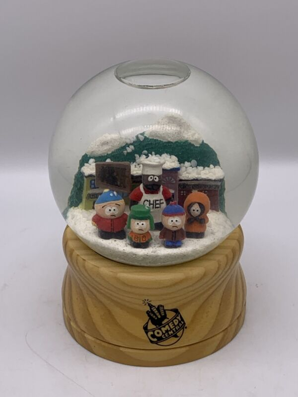 South Park Snow Globe Comedy Central Employee Gift 250 Made Rare
