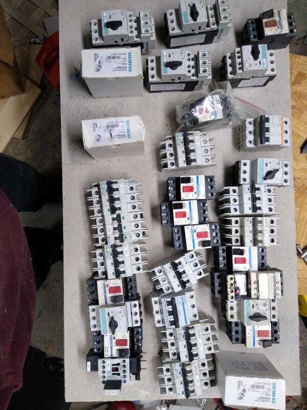 Siemens Assorted Contactors/Circuit Breakers