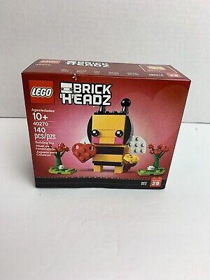 (RETIRED) Lego 40270 Brickheadz Seasonal Valentines Bumble Bee