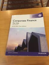 Corporate finance uni textbook Bellbowrie Brisbane North West Preview