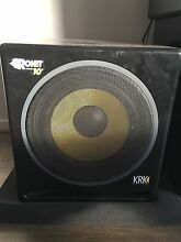 Krk Rp- 10s Subwoofer Coburg North Moreland Area Preview