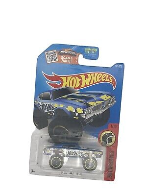 HW HOT WHEELS 2016 HW DARE DEVILS #1  OLDS 442 W-30 HOTWHEELS BLUE VHTF AWESOME