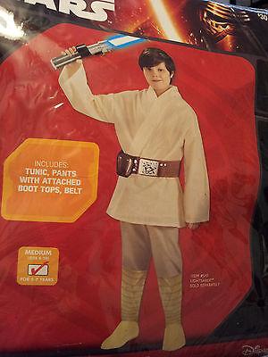 Luke Skywalker Cosplay (Star Wars Luke Skywalker Child Costume Size S(4/6)-M(8/10) Cosplay Pretend)