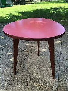 Superbe table tripode des ann es 50 39 s 60 39 s vintage ebay - Table tripode annees 50 ...