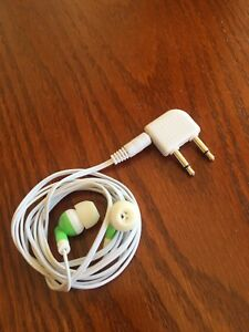Earphone With Airplane Adapter
