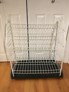 Shoe rack and tray