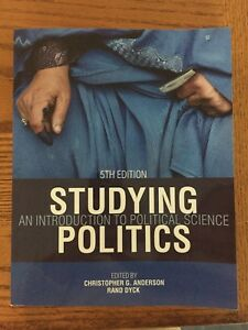 Studying Politics textbook