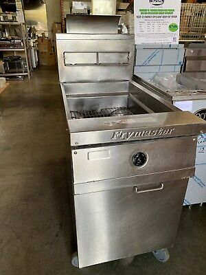 Commercial Deep Fryer Gas 75 Out Capacity