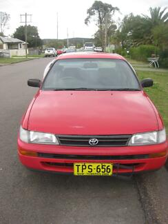 1995 Toyota Corolla Sedan Argenton Lake Macquarie Area Preview