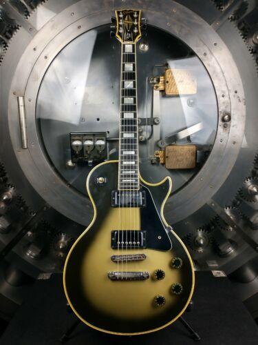 Gibson Les Paul Custom 1979 Silverburst w/ Original Chainsaw Case