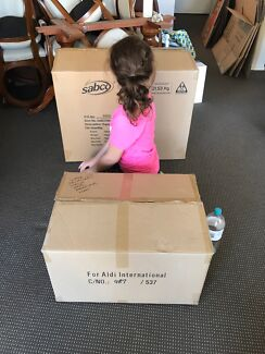 Moving/packing boxes
