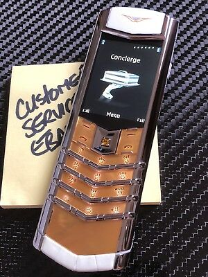 Genuine Vertu Signature S MOTHER OF PEARL limited edition Extremely Rare 150 WW