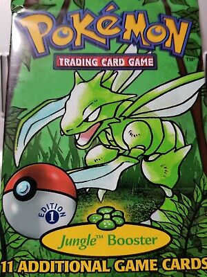 Pokemon: 1st Edition UNOPENED Jungle Booster (ONE Pack)