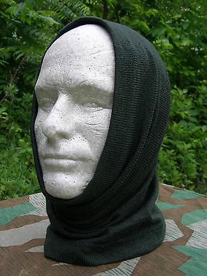 Reproduction German WWII Dark Green Winter Head Toque