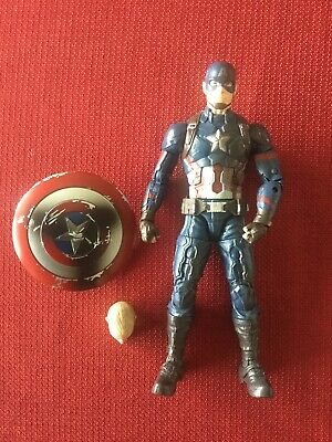 Marvel Legends Civil War 3 Pack Captain America Loose Complete
