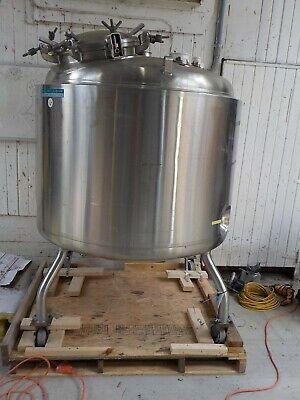 Paul Mueller 1000 Liter F Stainless Steel Vessel Pressure Reactor 35 Psi 350 F