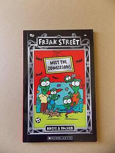 Freak Street: Meet The Zombiesons Book Parkinson Brisbane South West Preview