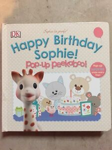 Sophie la girafe HAPPY BIRTHDAY SOPHIE!